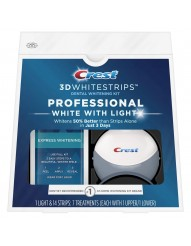 Crest 3D Whitestrips Professional White With Light фото 1
